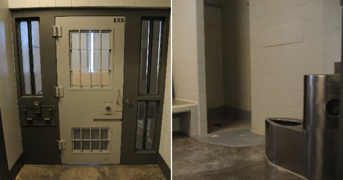 This photo shows a prison cell similar to the one Derek Chauvin is being held in.