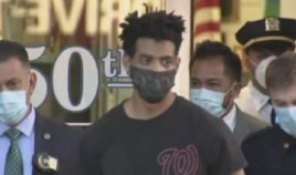 Jordan Burnette, a suspect in a series of synagogue vandal attacks in New York City.